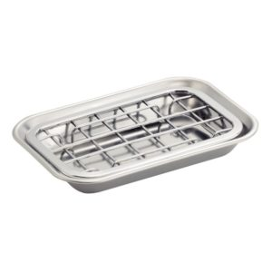 kitchen metal soap dish